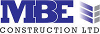 MBE Construction Ltd Retina Logo