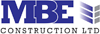 MBE Construction Ltd Mobile Logo