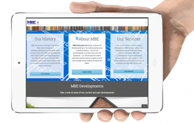 MBE Construction - New Website