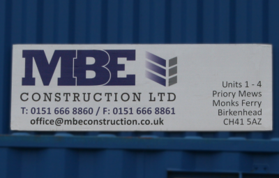 MBE Construction Ltd Logo Picture