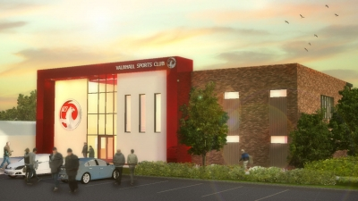 Vauxhall Housing & Clubhouse - Ellesmere Port, Cheshire, North West