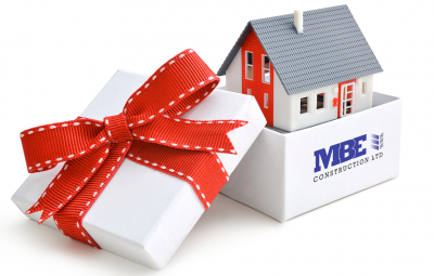 Happy Holidays from MBE Construction Ltd